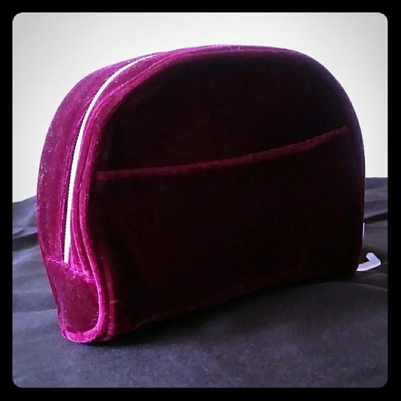 Handbags - Burgundy Clutch Bag